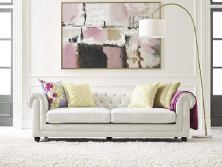 Oturma Odası İçin Lüks Baklava Dilimli Koltuk Tasarımları